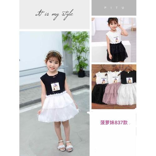 Đầm Sunfani bé gái