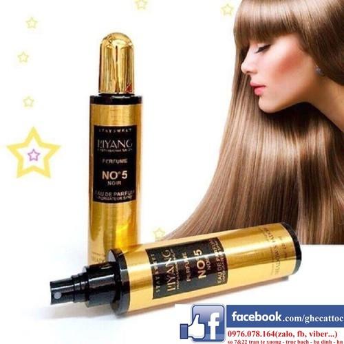 Xịt dưỡng tóc N5 ASBOULE