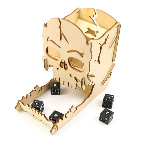 Tháp đổ xí ngầu độc đáo hình đầu lâu_boardgame