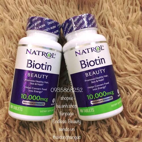 Natrol Biotin 10000 mcg Viên uống hỗ trợ mọc tóc - 11533199 , 17465766 , 15_17465766 , 240000 , Natrol-Biotin-10000-mcg-Vien-uong-ho-tro-moc-toc-15_17465766 , sendo.vn , Natrol Biotin 10000 mcg Viên uống hỗ trợ mọc tóc
