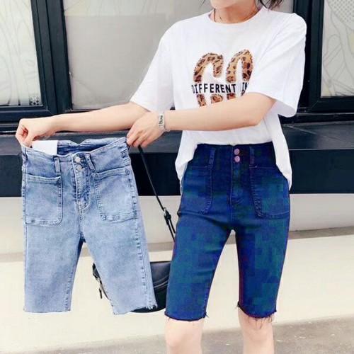 Quần lửng jean nữ phong cách - 4686379 , 17472358 , 15_17472358 , 145000 , Quan-lung-jean-nu-phong-cach-15_17472358 , sendo.vn , Quần lửng jean nữ phong cách
