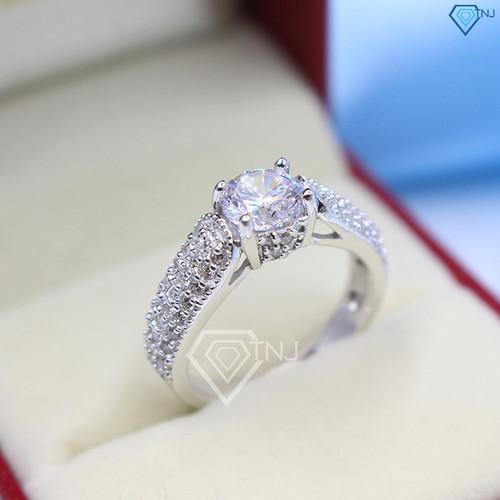 Nhẫn bạc nữ, nhẫn bạc nữ đẹp, nhẫn bạc cho nữ cao cấp NN0169 - Trang Sức TNJ