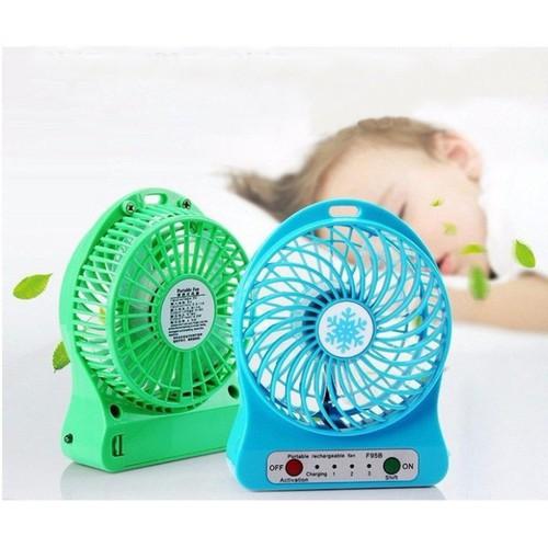 Quạt mini fan xài pin sạc - 4686072 , 17469267 , 15_17469267 , 80000 , Quat-mini-fan-xai-pin-sac-15_17469267 , sendo.vn , Quạt mini fan xài pin sạc