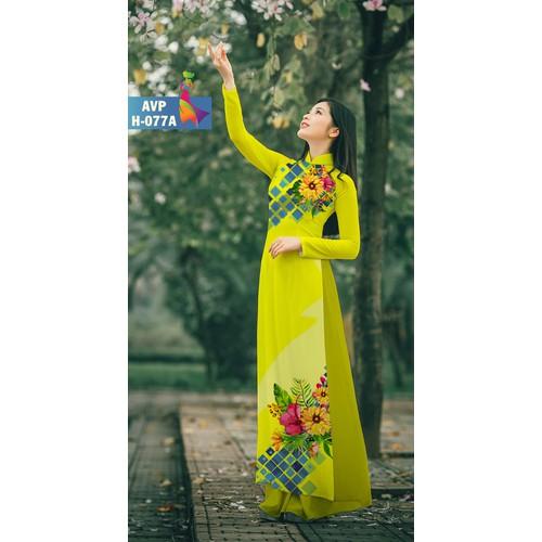 Vải Áo Dài Hoa in 3D - AVP-H-077A - 7673243 , 17464033 , 15_17464033 , 230000 , Vai-Ao-Dai-Hoa-in-3D-AVP-H-077A-15_17464033 , sendo.vn , Vải Áo Dài Hoa in 3D - AVP-H-077A