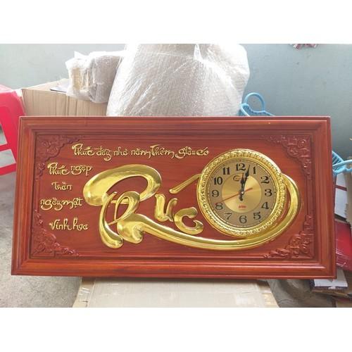 Tranh đồng hồ gỗ Chữ Phúc - 11533132 , 17465669 , 15_17465669 , 1490000 , Tranh-dong-ho-go-Chu-Phuc-15_17465669 , sendo.vn , Tranh đồng hồ gỗ Chữ Phúc