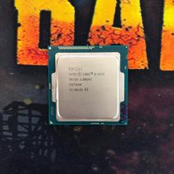 Chíp máy tính, CPU I5 4690 sk 1150, Bộ xử lý Intel® Core™ i5-4690 6M bộ nhớ đệm, tối đa 3,90 GHz, tặng fan + keo