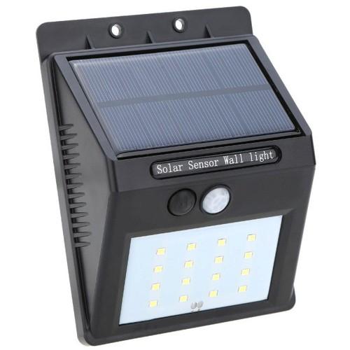 Đèn tích năng lượng mặt trời tự sáng khi ai đi ngang