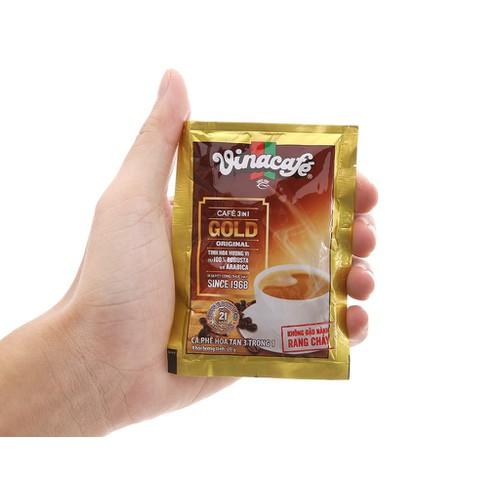 Bịch 24 gói cà phê sữa hòa tan VinaCafe 3 in 1 Gold Original - 11531661 , 17461022 , 15_17461022 , 49000 , Bich-24-goi-ca-phe-sua-hoa-tan-VinaCafe-3-in-1-Gold-Original-15_17461022 , sendo.vn , Bịch 24 gói cà phê sữa hòa tan VinaCafe 3 in 1 Gold Original