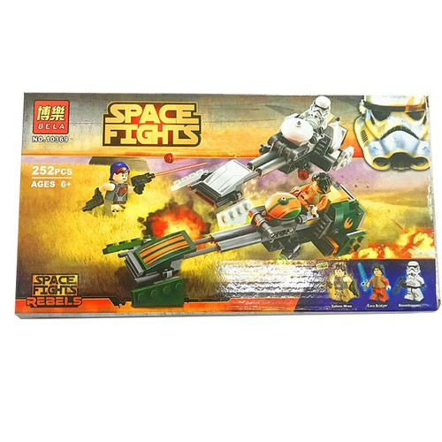 Lắp ghép Space Fights 10369