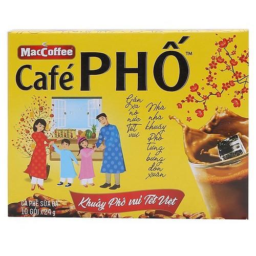 Hộp 10 gói tặng 1 gói cà phê sữa Phố - 11209512 , 17461482 , 15_17461482 , 35000 , Hop-10-goi-tang-1-goi-ca-phe-sua-Pho-15_17461482 , sendo.vn , Hộp 10 gói tặng 1 gói cà phê sữa Phố