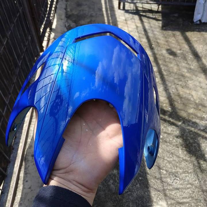 H139 _ Chai sơn xịt sơn xe máy Samurai H139 màu xanh cơ bản Honda _ Federal Blue _shop uy tín _giao hàng nhanh _ giá rẻ 8