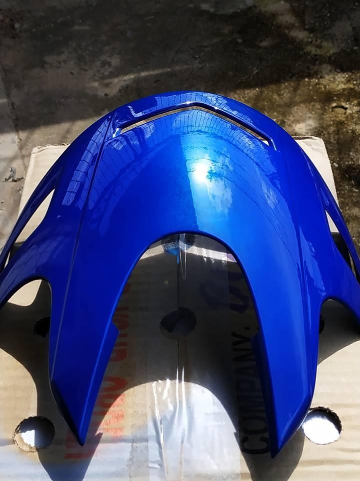 H139 _ Chai sơn xịt sơn xe máy Samurai H139 màu xanh cơ bản Honda _ Federal Blue _shop uy tín _giao hàng nhanh _ giá rẻ 11