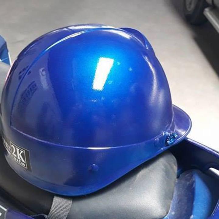 H195M _ Chai sơn xịt sơn xe máy Samurai H195 màu xanh dương Honda màu siêu đẹp, bền và giá rẻ 2