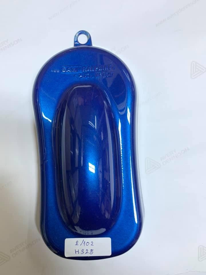 H325 _ Sơn xit Samurai H325 màu xanh dương Wave Honda _Wave Blue _ Tốt, giá rẻ, ship nhanh 9
