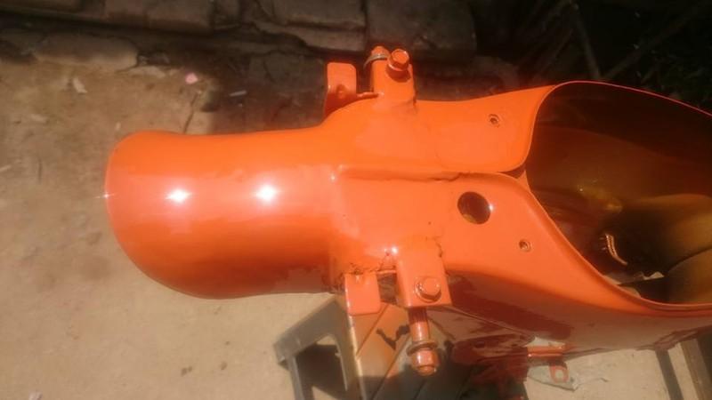 h351p _Chai sơn xịt sơn xe máy Samurai H351P** màu cam ngọc trai Honda Pearl Excited Orange giá rẻ, uy tín , giao nhanh 9