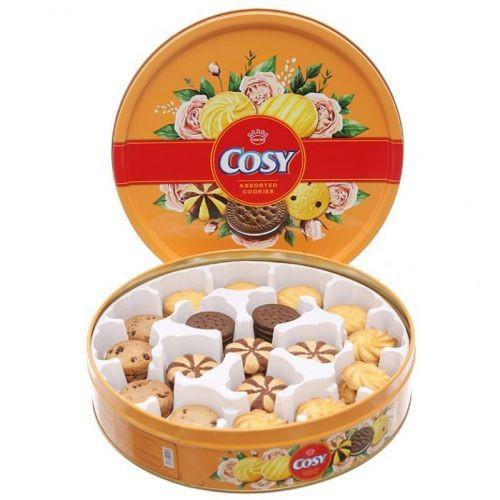 Bánh quy hương sô cô la Cosy hộp thiếc 378g