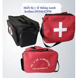 Túi y tế lớn màu đen - Túi đựng đồ cứu thương