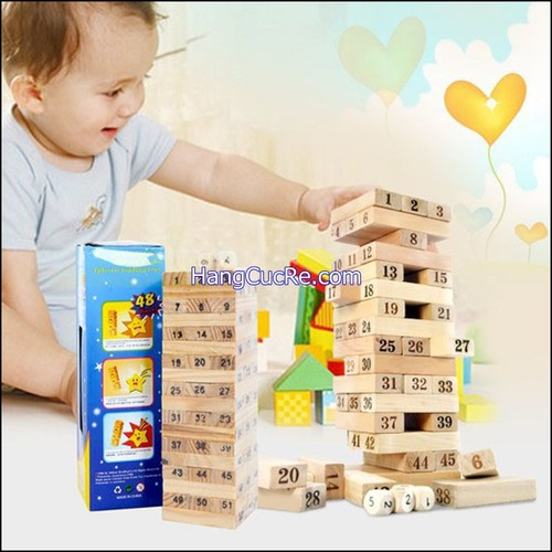 2 bộ rút gỗ thông minh rèn trí thông minh cho bé