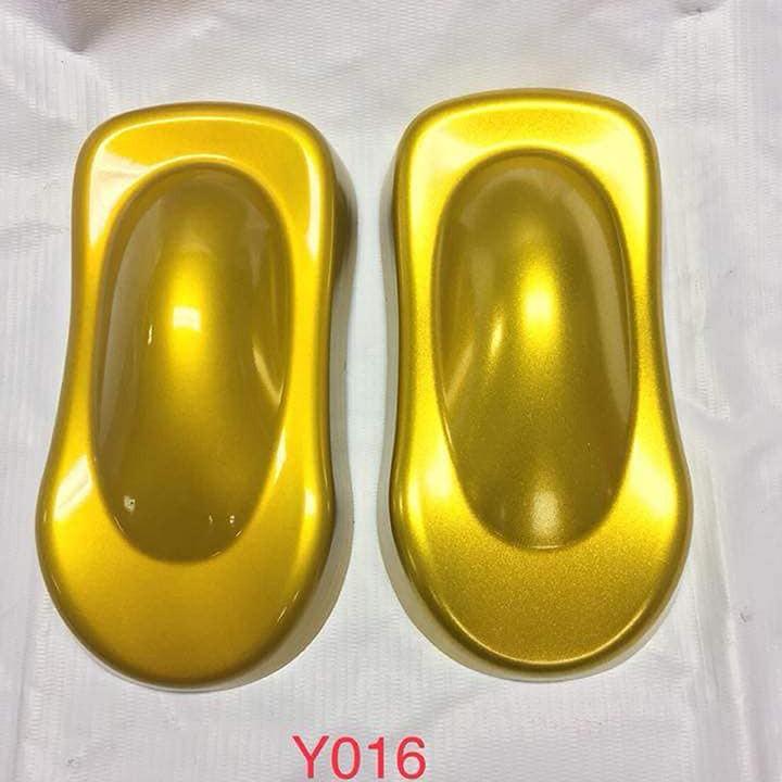 Y016 _ Sơn xit Samurai Y016 _Candy Yellow_ màu vàng kẹo Yamaha _ Tốt, giá rẻ, ship nhanh 4