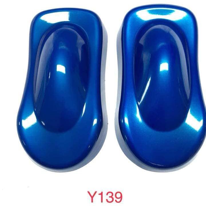 y139 _ Chai sơn xịt sơn xe máy Samurai Y139 màu xanh nước biển Yamaha uy tín, giao hàng nhanh, giá rẻ 6