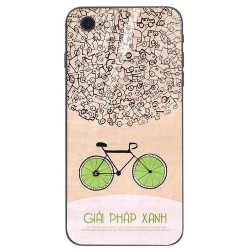 Ốp kính cường lực dành cho điện thoại iPhone 6 - 6s - 7 - 8 - 6 Plus - phong trào cổ động tuyên truyền - ptcdtt 007 - hàng đẹp