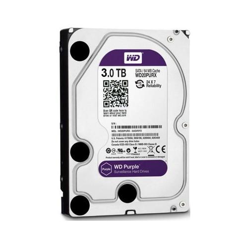 Ổ cứng gắn trong Máy Tính Bàn Western Purple 3TB SATA 6Gbs - Bộ Quà Tặng