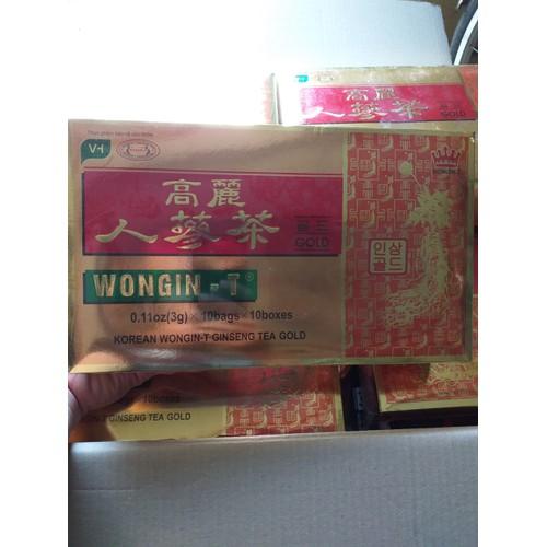 TRÀ SÂM VÀNG WONGIN-T 3g x 100 gói