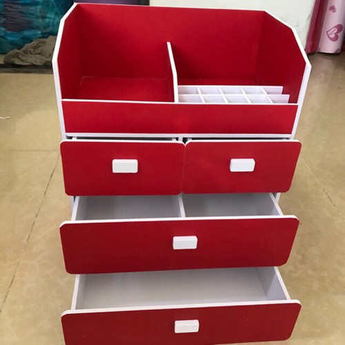 ( Tặng 1 hộp đựng cọ) Kệ Đựng nước hoa mỹ phẩm màu đỏ 4 ngăn sang trọng - 11537323 , 17478674 , 15_17478674 , 250000 , -Tang-1-hop-dung-co-Ke-Dung-nuoc-hoa-my-pham-mau-do-4-ngan-sang-trong-15_17478674 , sendo.vn , ( Tặng 1 hộp đựng cọ) Kệ Đựng nước hoa mỹ phẩm màu đỏ 4 ngăn sang trọng