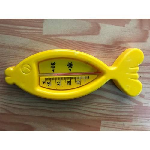 Nhiệt kế đo nước tắm hình cá cho bé
