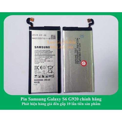 Pin Samsung Galaxy S6 G920 Chính Hãng