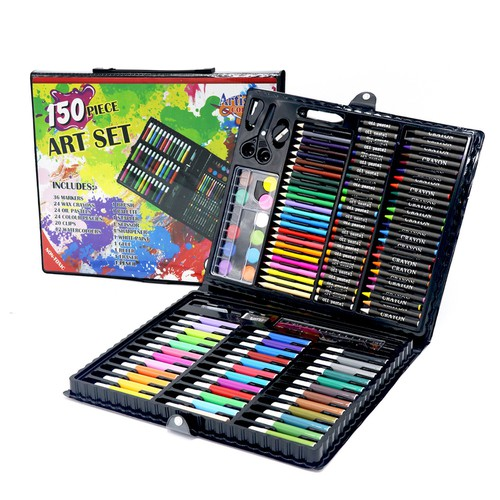 Bộ 150 loại bút chì màu khác nhau vẽ thỏa thích