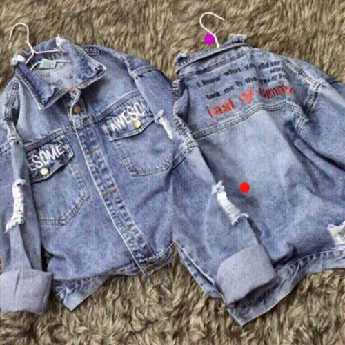 áo khoác jean nữ kiểu rách mới - 11122480 , 17486579 , 15_17486579 , 170000 , ao-khoac-jean-nu-kieu-rach-moi-15_17486579 , sendo.vn , áo khoác jean nữ kiểu rách mới