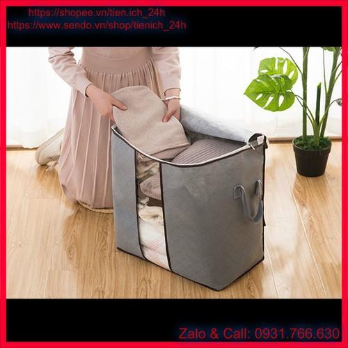 Túi đựng chăn màn khung sắt - Túi đựng đồ