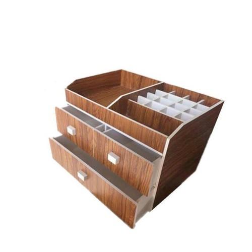 ( Tặng gương mini) Kệ mỹ phẩm 3 tầng gỗ đựng son phấn tiện dụng cho chị em để đồ ngăn nắp - 4881359 , 17478866 , 15_17478866 , 220000 , -Tang-guong-mini-Ke-my-pham-3-tang-go-dung-son-phan-tien-dung-cho-chi-em-de-do-ngan-nap-15_17478866 , sendo.vn , ( Tặng gương mini) Kệ mỹ phẩm 3 tầng gỗ đựng son phấn tiện dụng cho chị em để đồ ngăn nắp