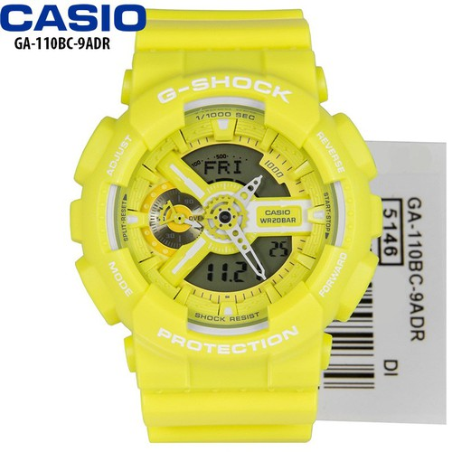 Đồng hồ CASIO nam chính hãng  Dây Nhựa Vàng - GA-110BC-9ADR - 4882492 , 17491523 , 15_17491523 , 4230000 , Dong-ho-CASIO-nam-chinh-hang-Day-Nhua-Vang-GA-110BC-9ADR-15_17491523 , sendo.vn , Đồng hồ CASIO nam chính hãng  Dây Nhựa Vàng - GA-110BC-9ADR