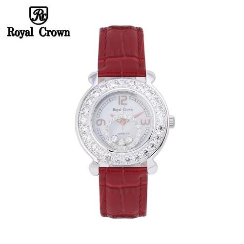 Đồng hồ nữ chính hãng Royal Crown 3773 dây da đỏ - 7674119 , 17481571 , 15_17481571 , 3399000 , Dong-ho-nu-chinh-hang-Royal-Crown-3773-day-da-do-15_17481571 , sendo.vn , Đồng hồ nữ chính hãng Royal Crown 3773 dây da đỏ