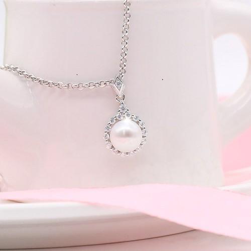 Dây Chuyền Ngọc Trai Pearl Bảo Ngọc Jewelry Silver M-1358