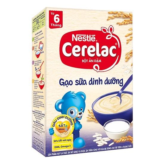 Bột ngũ cốc Nestle Gạo sữa dinh dưỡng 200g