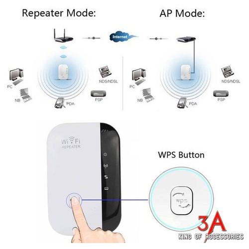 Kích Sóng WiFi 300 Mét - Hàng Xịn