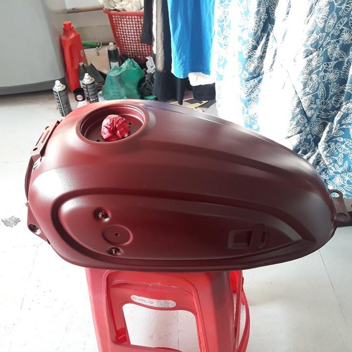 Chai sơn xịt sơn xe máy Samurai S138 màu đỏ sáng Suzuki _ Bright Red, shop uy tín, giao hàng nhanh, giá rẻ 7