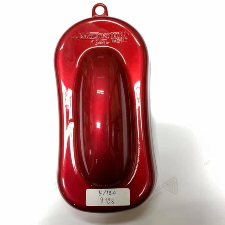 Chai sơn xịt sơn xe máy Samurai S138 màu đỏ sáng Suzuki _ Bright Red, shop uy tín, giao hàng nhanh, giá rẻ 3