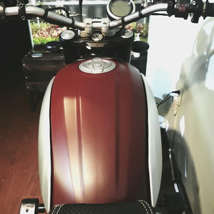Chai sơn xịt sơn xe máy Samurai S138 màu đỏ sáng Suzuki _ Bright Red, shop uy tín, giao hàng nhanh, giá rẻ 8