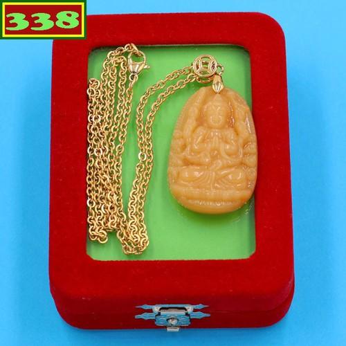 Vòng cổ Quan âm nghìn tay vàng 3.6 cm DIVTVB8 kèm hộp nhung - Hộ mệnh người tuổi Tý