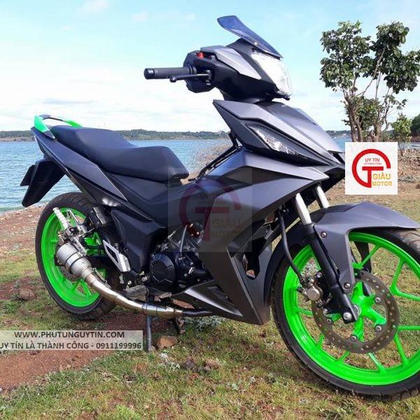 K414 _ Chai sơn xịt sơn xe máy Samurai K414 màu xám đen kim loại Kawasaki  giá rẻ, uy tín, giao hàng nhanh 8