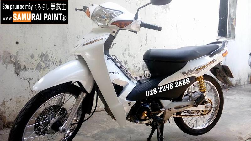 K420 _ Chai sơn xịt sơn xe máy Samurai K420 màu trắng Ngọc trai Kawasaki  giá rẻ, uy tín, giao hàng nhanh 6