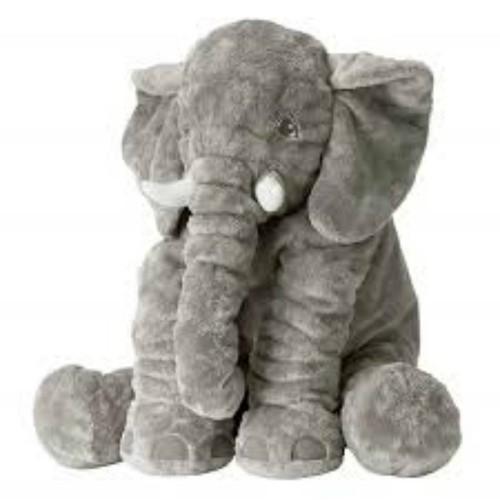 Thú nhồi bông voi xám cực đáng yêu cho bé