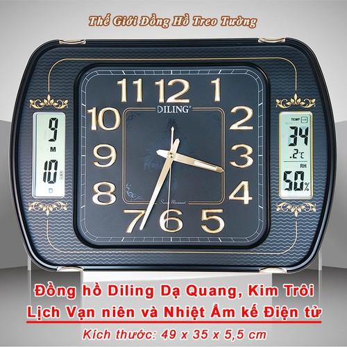 Đồng hồ DILING Kích thước Lớn, Kim Trôi, Số nổi 3D, Lịch Vạn Niên và Nhiệt Ẩm Kế - 7563205 , 17496130 , 15_17496130 , 1190000 , Dong-ho-DILING-Kich-thuoc-Lon-Kim-Troi-So-noi-3D-Lich-Van-Nien-va-Nhiet-Am-Ke-15_17496130 , sendo.vn , Đồng hồ DILING Kích thước Lớn, Kim Trôi, Số nổi 3D, Lịch Vạn Niên và Nhiệt Ẩm Kế