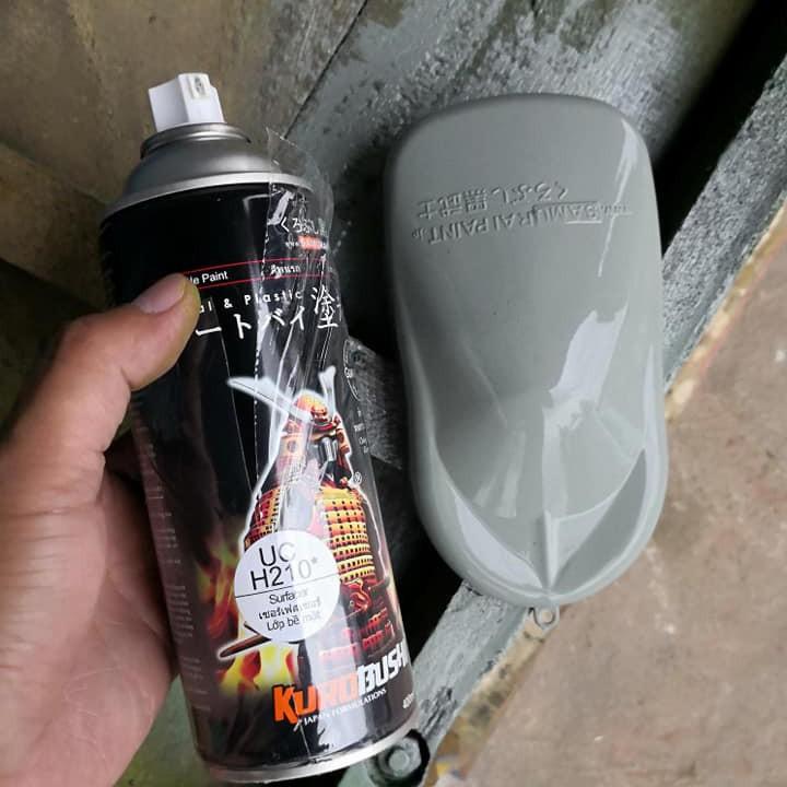 UCH210 _ Chai sơn lót sơn xe máy Samurai UCH210 1 thành phần  _Surfacer _ Shop uy tín, giao hàng nhanh, giá rẻ 8