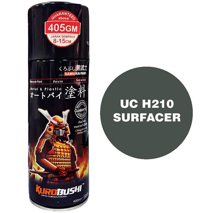 UCH210 _ Chai sơn lót sơn xe máy Samurai UCH210 1 thành phần  _Surfacer _ Shop uy tín, giao hàng nhanh, giá rẻ 2