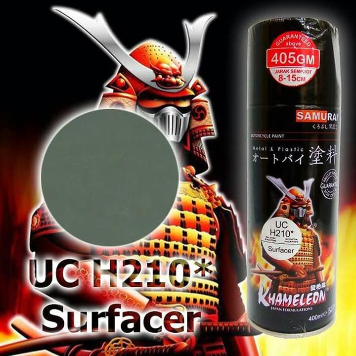 UCH210 _ Chai sơn lót sơn xe máy Samurai UCH210 1 thành phần  _Surfacer _ Shop uy tín, giao hàng nhanh, giá rẻ 7